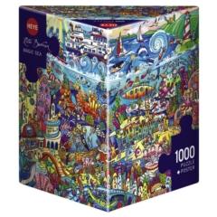 Heye 1000 db-os Triangular puzzle - Magic Sea, Rita Bermans (29839)