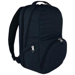 St.Right - Navy Melange hátizsák, iskolatáska - 3 rekeszes (619212)