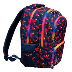 St.Right - Rainbow Birds hátizsák, iskolatáska - 4 rekeszes (622496)