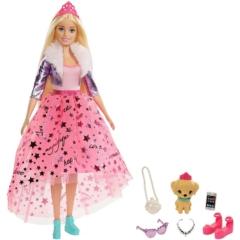 Barbie Princess Adventure Deluxe hercegnő - Barbie kutyával