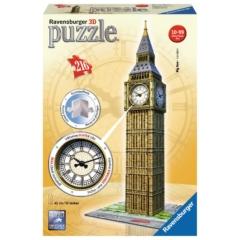 Ravensburger 216 db-os 3D puzzle - Big Ben valódi órával (12586)