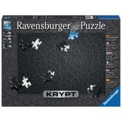 Ravensburger 736 db-os puzzle - KRYPT fekete (15260)