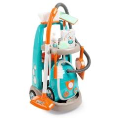 Smoby Játék Takarítókocsi porszívóval (330309)