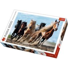 Trefl 1000 db-os puzzle - Galoppozó lovak (10446)
