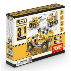 Engino JCB billenős teherautó 3 in 1 építőjáték (ENGJCB10)