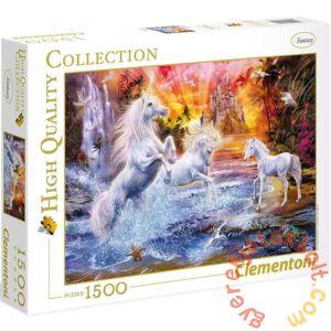 Clementoni 1500 db-os puzzle - Vad unikornisok (31805)