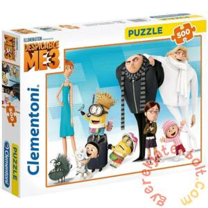 Clementoni 500 db-os puzzle - Gru 3 - Minyonok (35044)