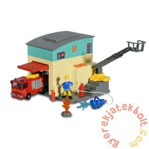 Dickie Sam, a tűzoltó - Mini tűzoltóállomás játékszett Jupiterrel (3093005)