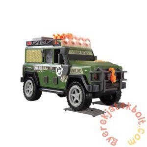 Dickie Katonai járőr Jeep működő keresőlámpával (3308366)
