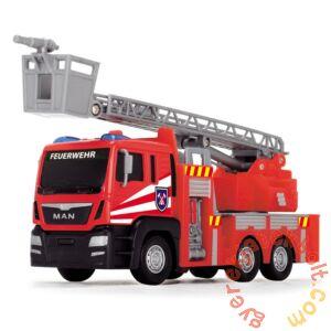 Dickie MAN Fire Engine mini játék tűzoltóautó - Emelőkosaras (3712008)