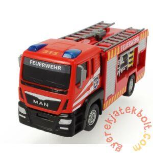 Dickie MAN Fire Engine mini játék tűzoltóautó - Létrás (3712008)