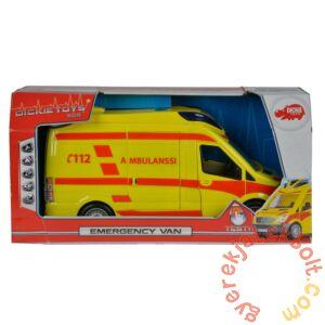 Dickie Emergency Van játék mentőautó (3716002)
