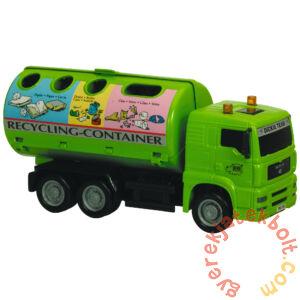 Dickie City Team játék munkagépek - Szelektív hulladékgyűjtő autó (3744001)