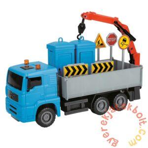 Dickie Heavy City Truck játék munkagépek - WC-szállító teherautó (3744003)
