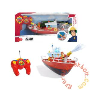 Dickie RC Sam, a tűzoltó - Titán távirányítós tűzoltóhajó (9621)