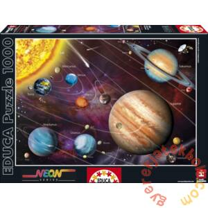 Educa 1000 db-os Neon puzzle - Naprendszer (14461)