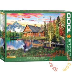 EuroGraphics 1000 db-os puzzle - The Fishing Cabin, Dominic Davison (6000-5376)