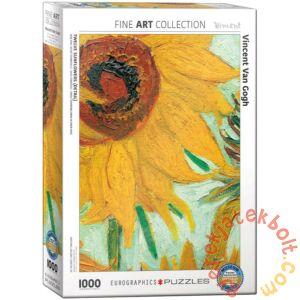 EuroGraphics 1000 db-os puzzle - Twelve Sunflowers, Van Gogh - Detail (6000-5429)