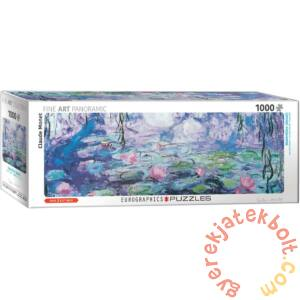 EuroGraphics 1000 db-os Panoráma puzzle - Waterlilies, Monet - Detail (6010-4366)