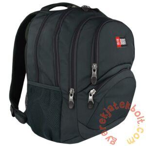St.Right - St.Gray hátizsák, iskolatáska - 4 rekeszes (619120)