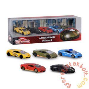 Majorette 5 db-os kisautó szett - Lamborghini (2053162)
