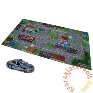 Majorette Creatix játszószőnyeg kisautóval - City, SOS (2056410)