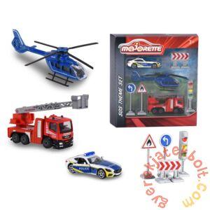 Majorette Sürgősségi járművek játékszett (2058585)