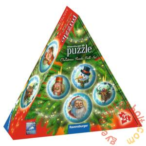 Ravensburger 4 x 27 db-os 3D gömb puzzle - Karácsonyi gömb szett (11678)