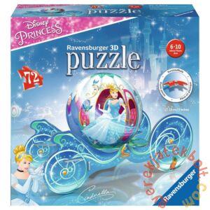 Ravensburger 72 db-os 3D gömb puzzle - Hamupipőke hintója (11823)