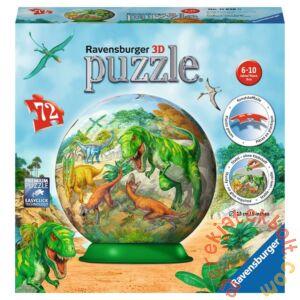 Ravensburger 72 db-os 3D gömb puzzle - Dinoszauruszok (11838)
