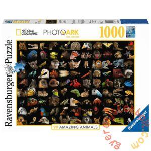 Ravensburger 1000 db-os puzzle - National Geographic - 99 lenyűgöző állatfotó (15983)