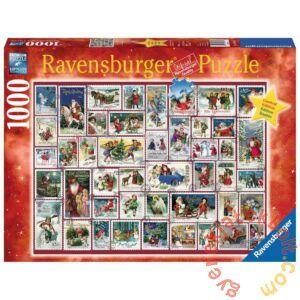 Ravensburger 1000 db-os puzzle - Karácsonyi jókívánságok (19881)