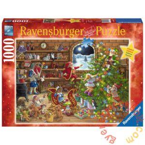 Ravensburger 1000 db-os puzzle - Karácsonyi készülődés (19882)