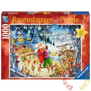 Ravensburger 1000 db-os puzzle - Karácsonyi party, Roy Trower (19893)