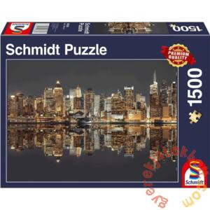 Schmidt 1500 db-os puzzle - New York Skyline at Night (58382)