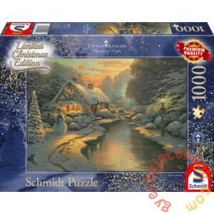 Schmidt 1000 db-os puzzle - On Christmas Eve, Thomas Kinkade (59492)