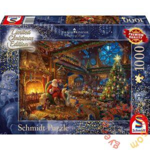Schmidt 1000 db-os puzzle - Santa Claus and his Elves, Thomas Kinkade (59494)