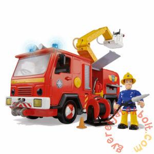 Simba Sam, a tűzoltó - Delux Jupiter tűzoltóautó figurával (63038)