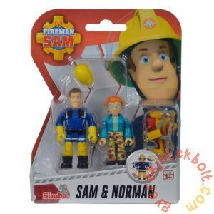 Simba Sam, a tűzoltó figura 2 db-os szett (7651)