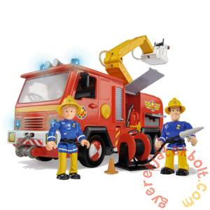 Simba Sam, a tűzoltó - Delux Jupiter tűzoltóautó 2 figurával (7661)