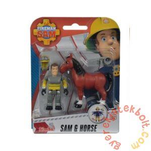 Simba Sam, a tűzoltó állatmentő szett - Sam és a ló (9746)