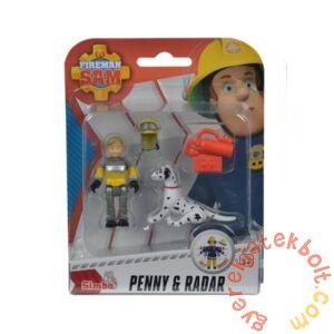 Simba Sam, a tűzoltó állatmentő szett - Penny és Radar (9746)