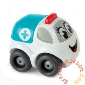Smoby Vroom Planet műanyag munkagépek - Mentőautó (120302)