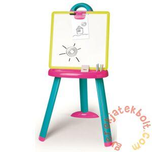 Smoby Kétoldalas összecsukható mágneses rajztábla - pink (410608)