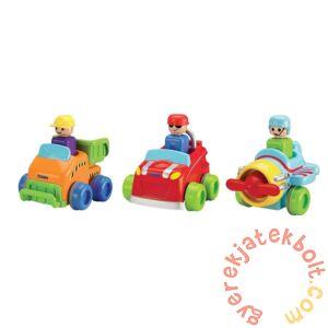 Tomy Nyomd meg és menj járművek - többféle  (1012)