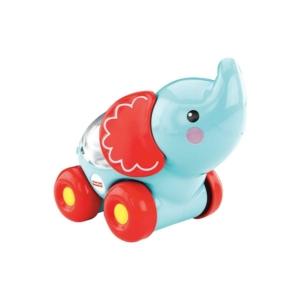 Fisher-Price Poppity gurulós csörgő elefánt bébijáték (CMV98-BGX29)