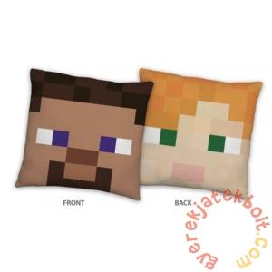 Minecraft párna - Steve & Alex - 40 x 40 cm-es (MNC-008C)