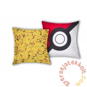 Pokémon párna -  Pikachu - 40 x 40 cm-es (POK-027C)