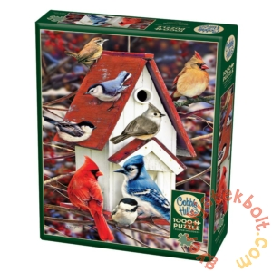 Cobble Hill 1000 db-os puzzle - Winter Birdhouse (80122)