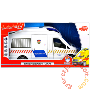 Dickie Emergency Van játék rendőrautó (3716002)